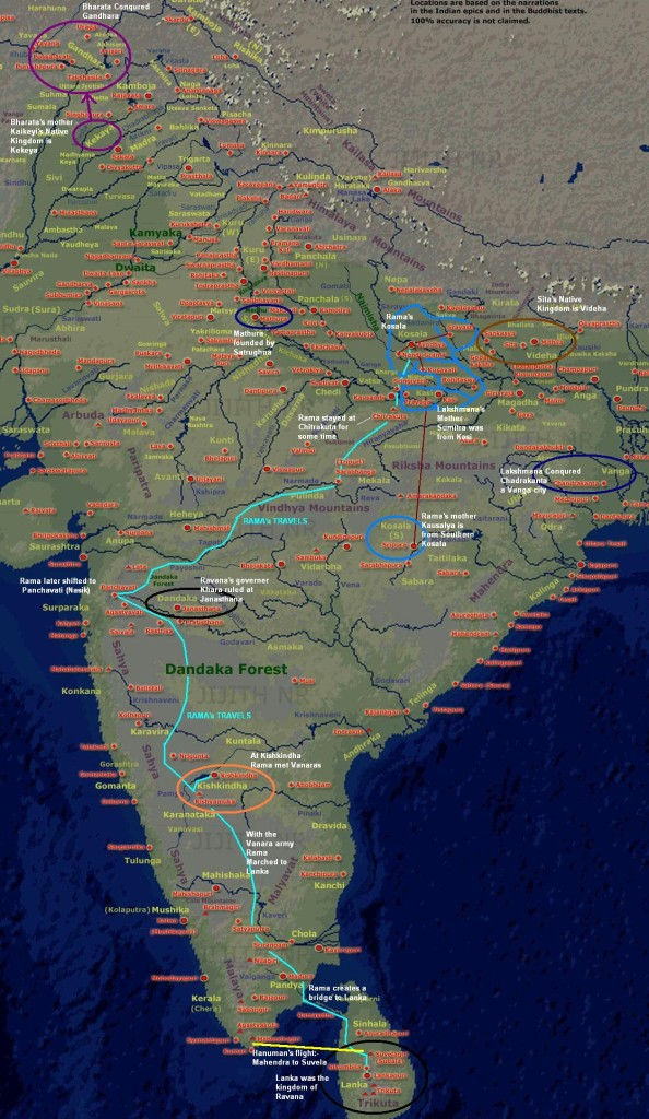 Know the Vanvas Route of Lord Rama From Ayodhya to Lanka