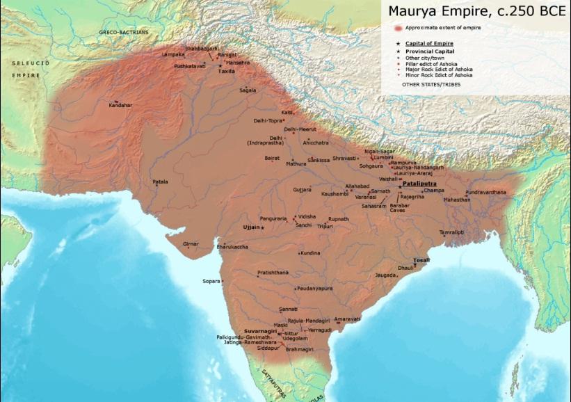 maurya kalin bharat ka manchitra