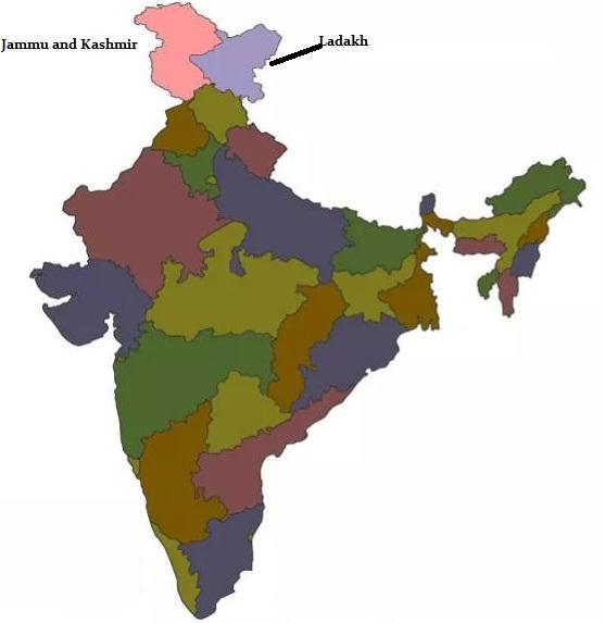 Bharat ka Naksha - 2019